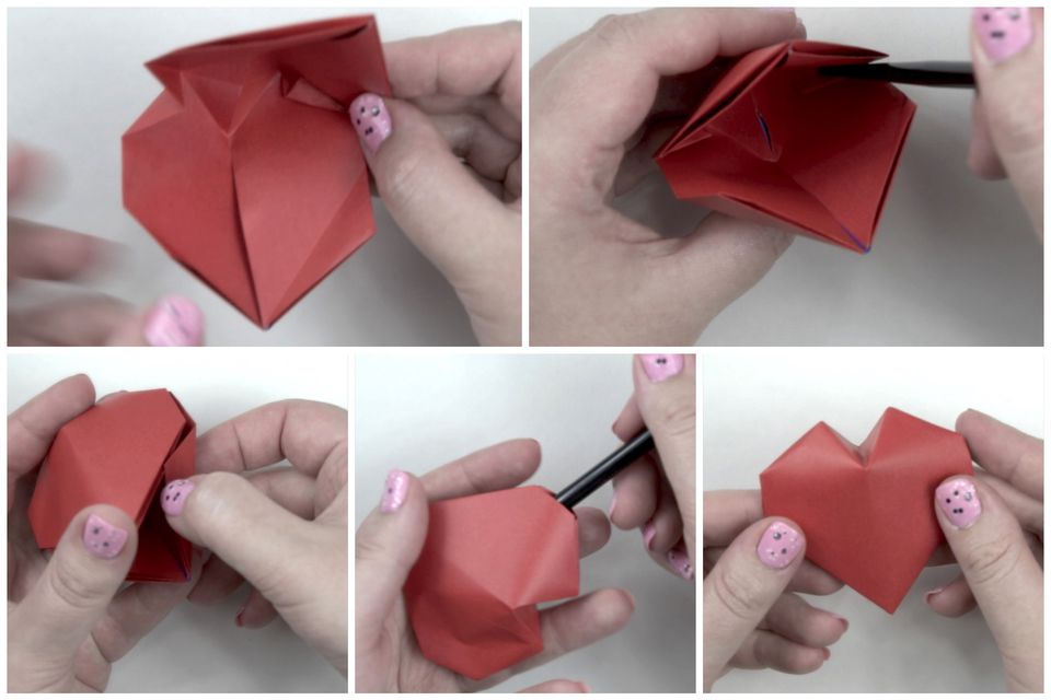 How To Make A Heart Box Origami Gallery