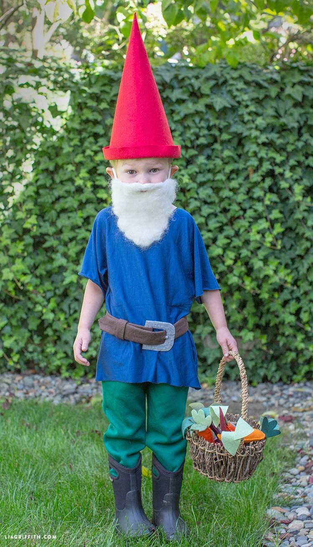25 diy halloween costume ideas for kids garden gnome halloween costume solutioingenieria Images