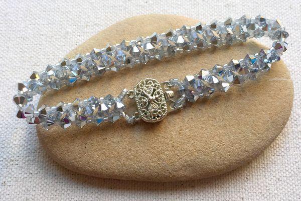 Crystal Bead Tennis Bracelet DIY