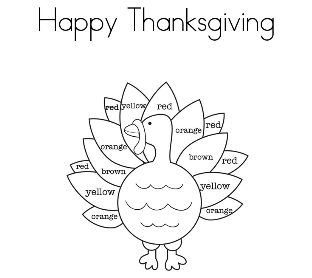 thanksgiving turkey coloring pages Print These Free Turkey Coloring Pages for the Kids thanksgiving turkey coloring pages