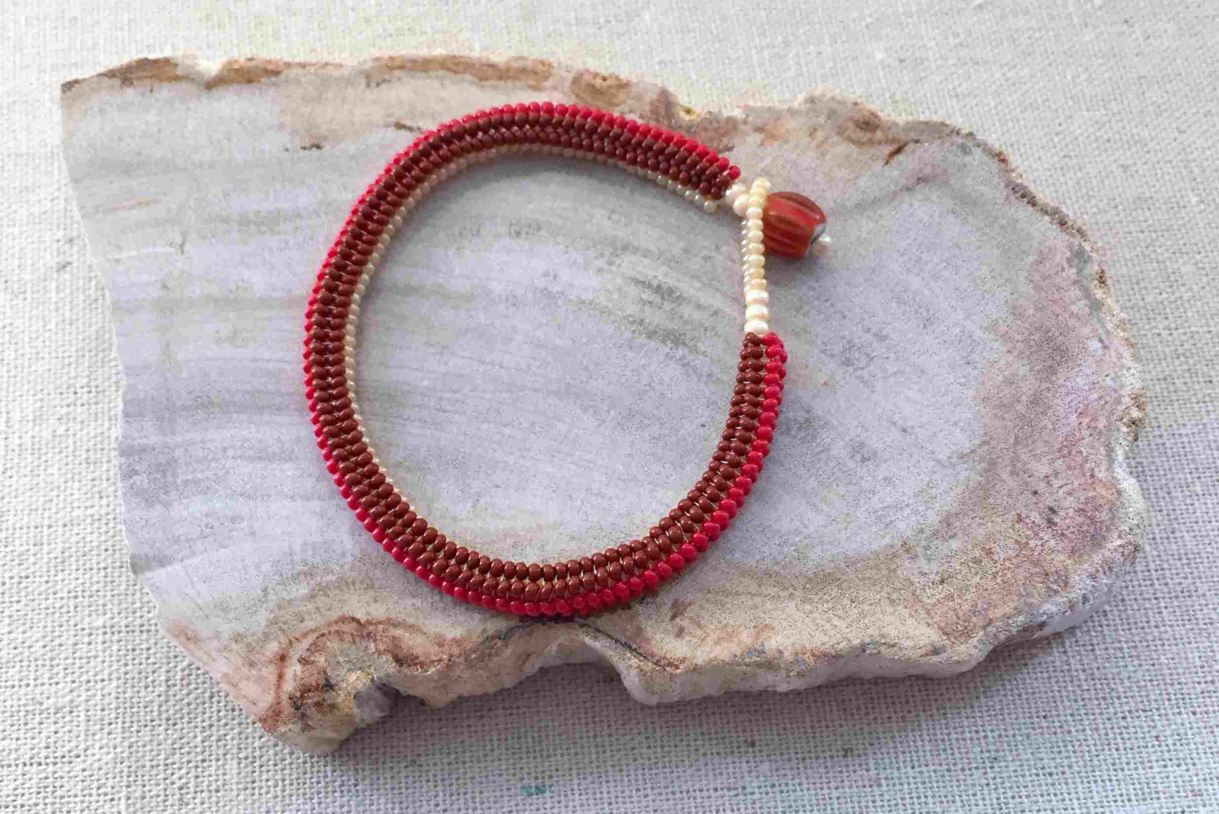 Tubular Herringbone Bracelet