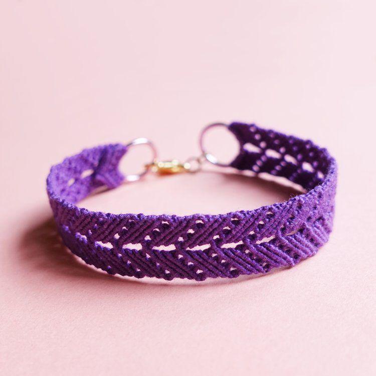 macrame bracelet knots