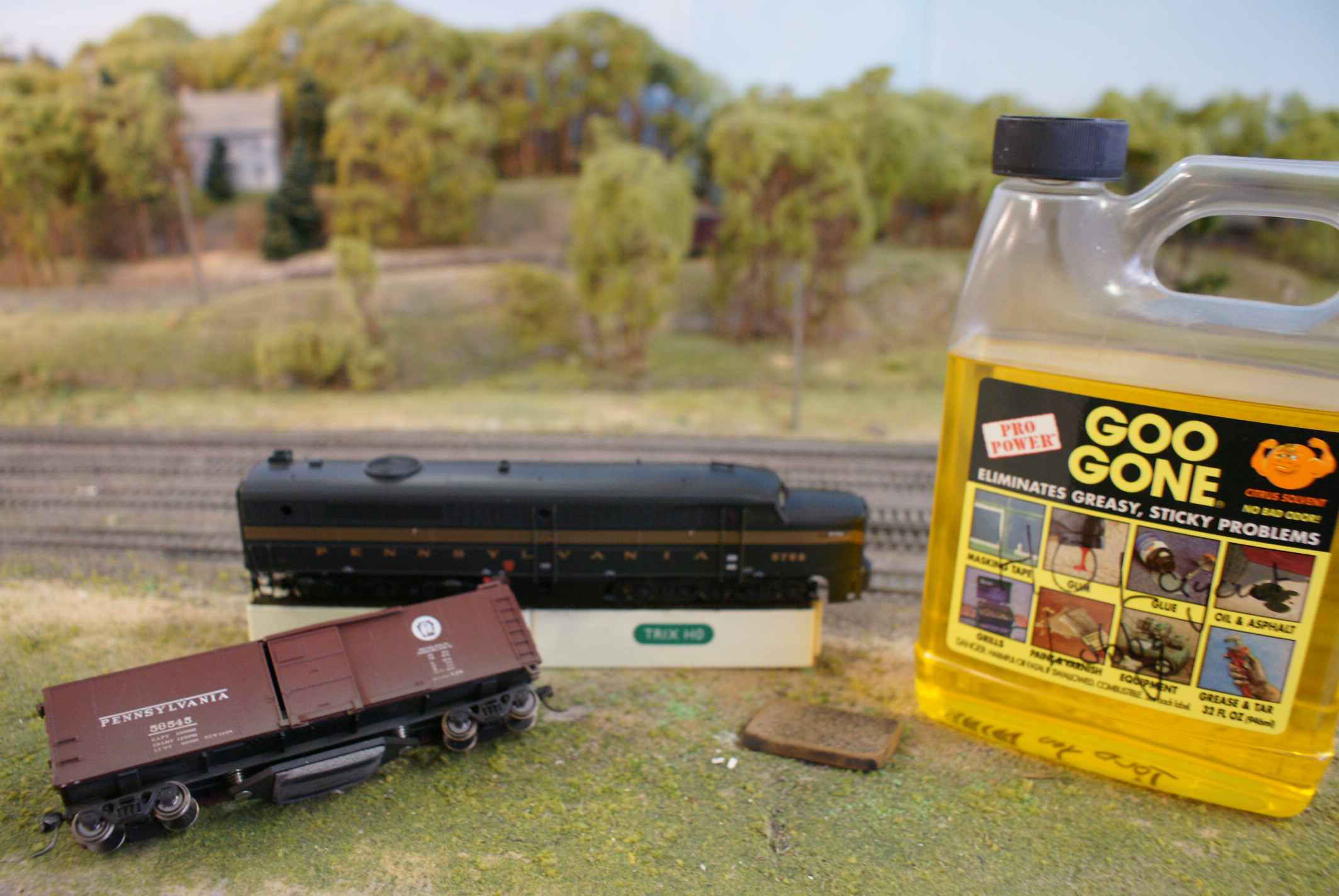 Troubleshooting And Fixing Model Trains That Wont Run John Deere Wiring Diagram On Fix It Here A Variety Of Specialized Common Cleaning Supplies Are Available To Help Keep Your Track