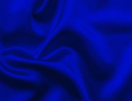 Deep blue satin cloth