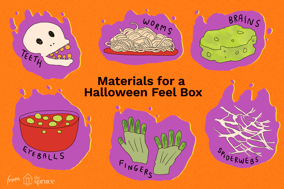 """Feel box"" game for Halloween"