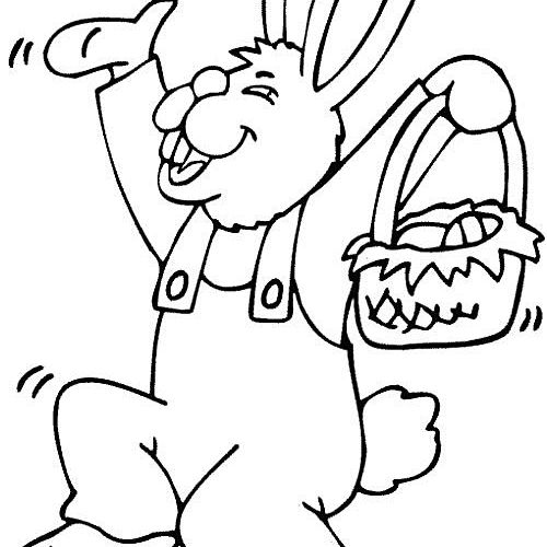 20 Best Places For Easter Coloring Pages For The Kids