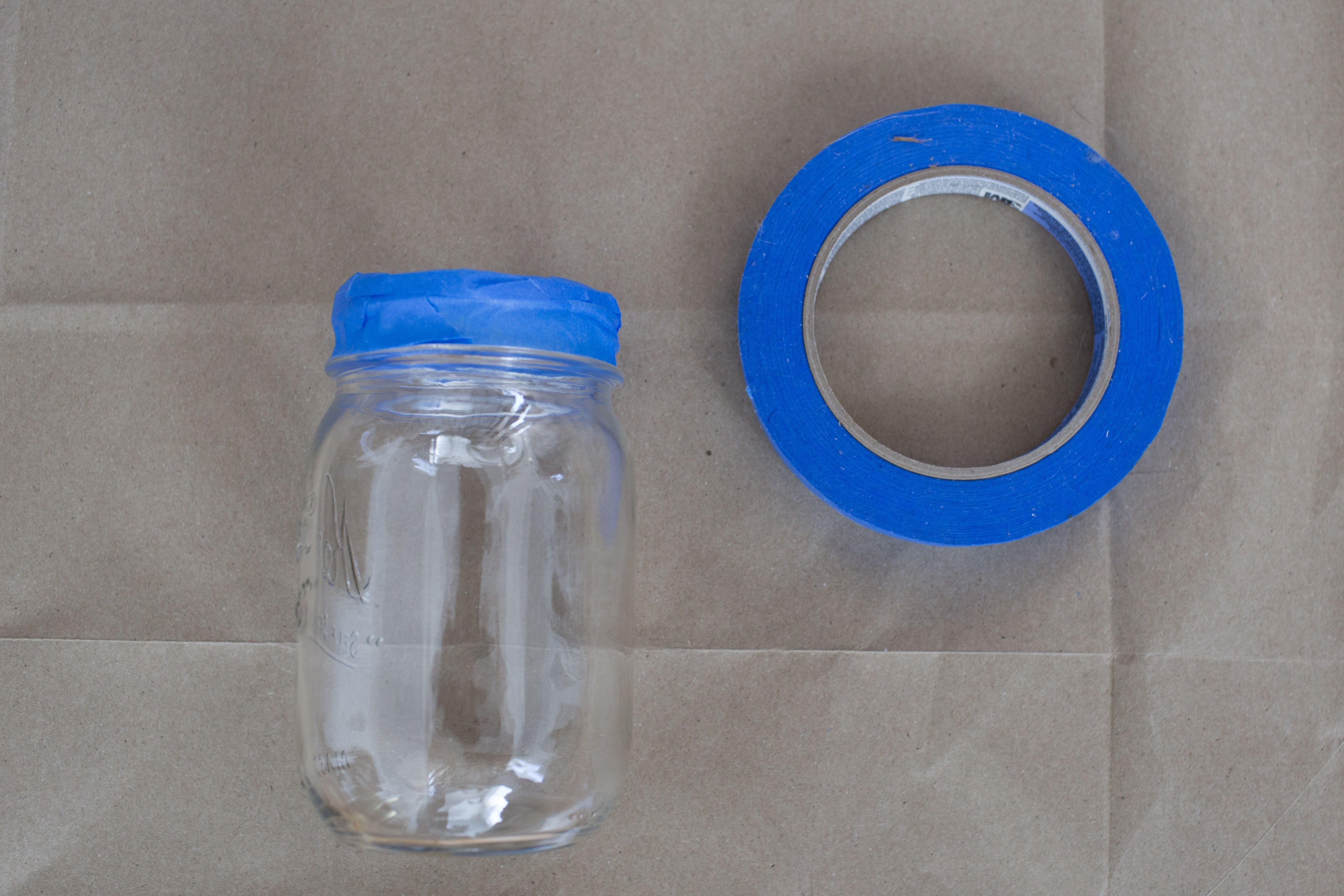 Taped jar