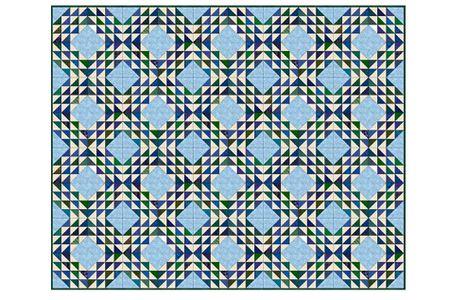 Free Ocean Waves Quilt Pattern