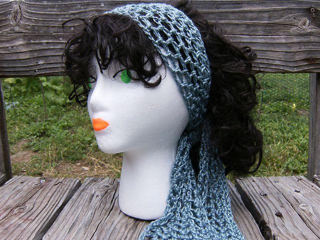 Gypsy Head Scarf Free Crochet Pattern
