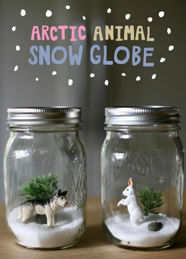 Arctic Animal Snow Globes