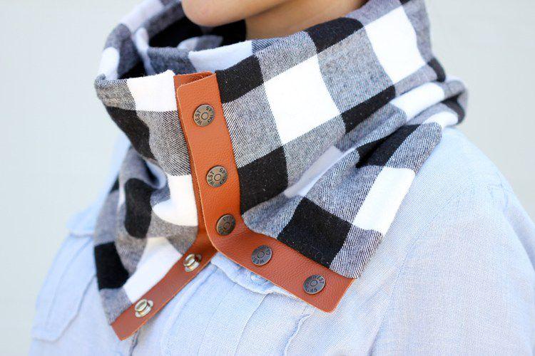 diy scarf, how to make a homemade scarf