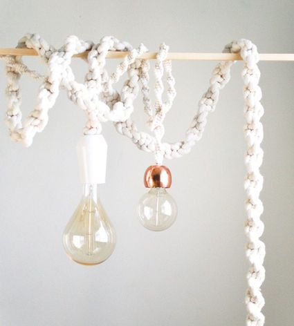 macrame light cord