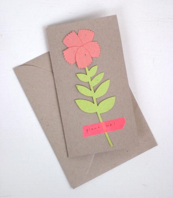 DIY Plant A Flower Card