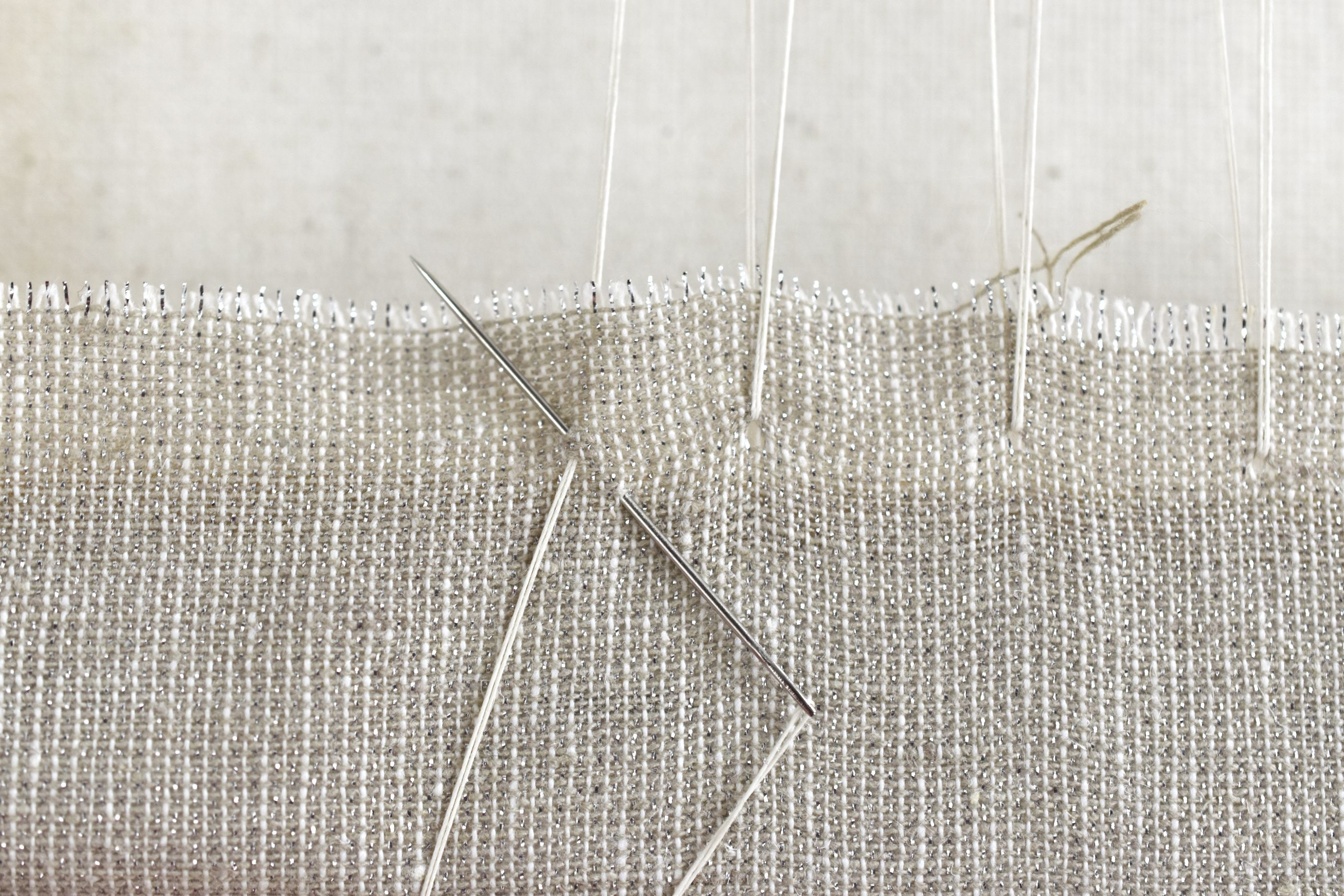 Secure Thread Ends With an Extra Stitch