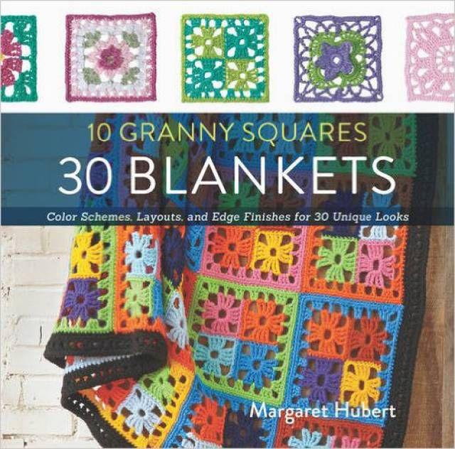 Granny Square Blankets Crochet Book