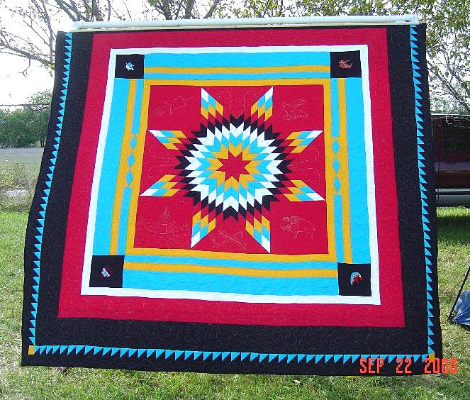 2006 Pow Wow Quilt