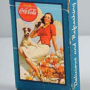 Ca. 1943 Coca-Cola Playing Cards