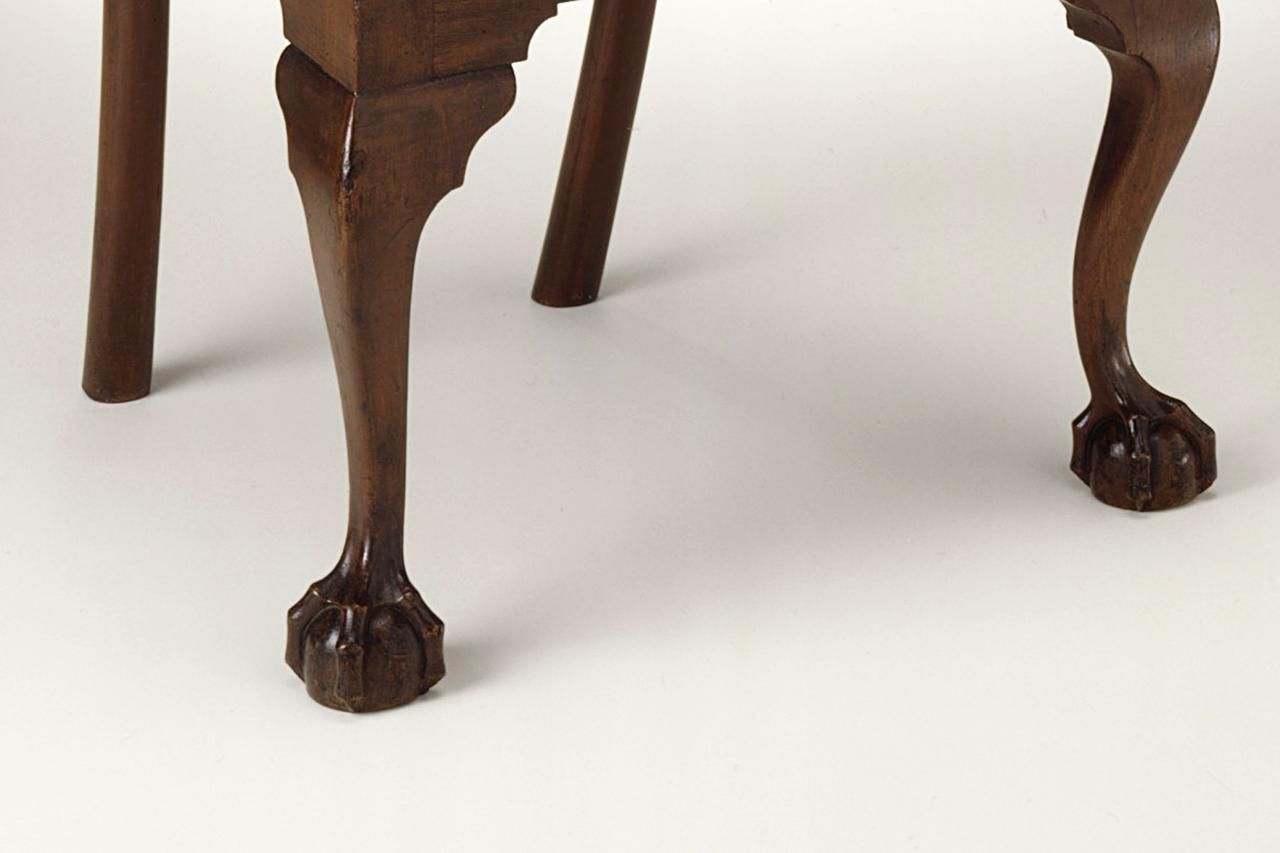 Ball and Claw Feet Carved of Wood