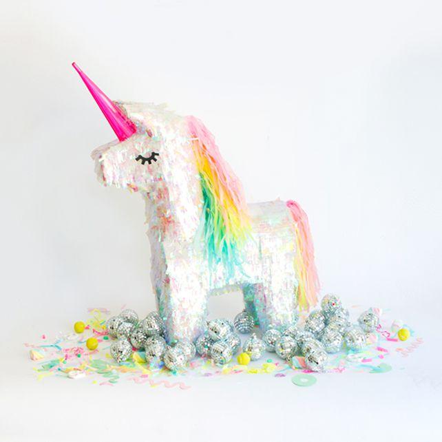 DIY Unicorn Pinata Makecover