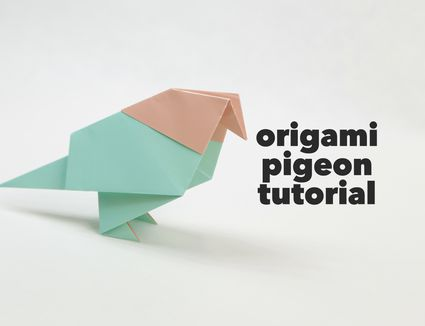 instructions how to make a paper crane