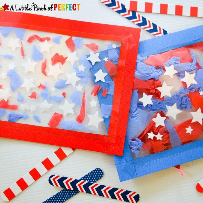 Patriotic Suncatcher Craft