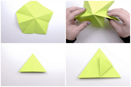 3d Origami Apple Tutorial 3