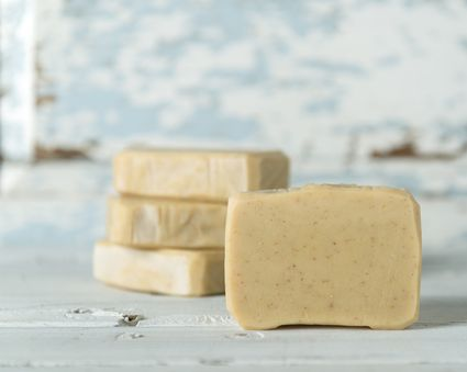 hand made organic soap