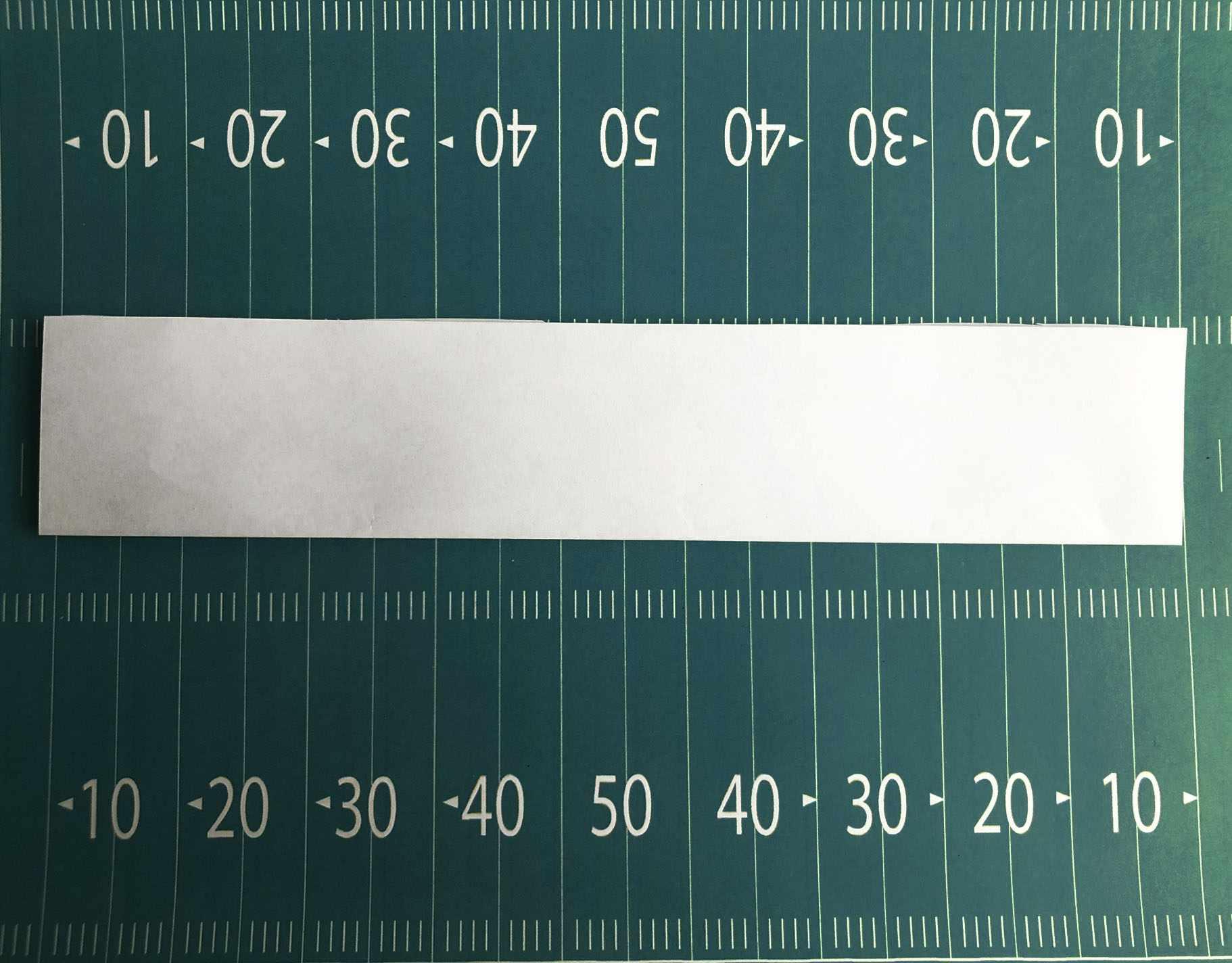 fold cut sheet in half