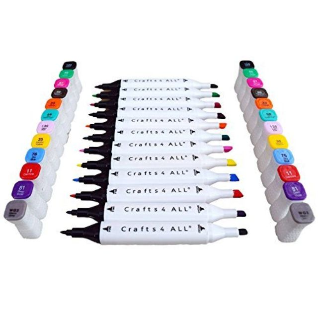 Dritz Marking Pencils For Light /& Dark Fabrics Blue /& White Non Smearing
