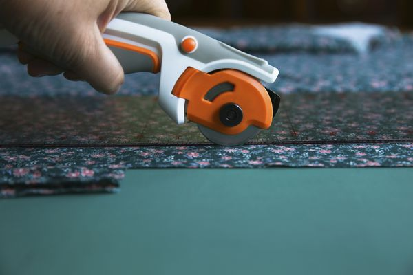 Rotary Cutting Fabric for Quilts