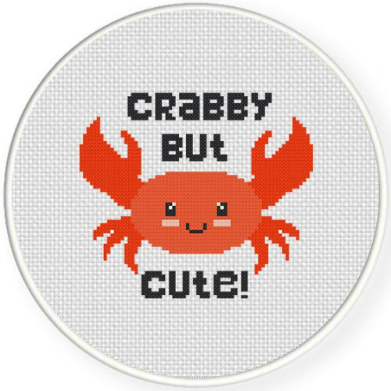 Crappy But Cute cross stitch