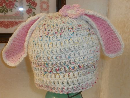 6748f573a14 Adorable Bunny Hat Crochet Patterns for Easter