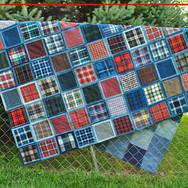 Make a Gorgeous Denim Quilt From Blue Jeans