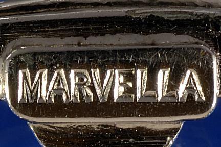 Ca. 1911 - present Marvella costume jewelry mark