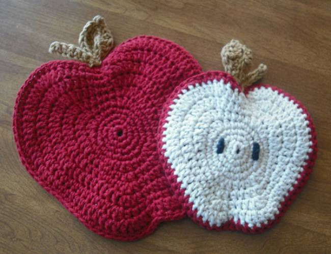 Crochet Amigurumi Apple Free Pattern - Crochet Amigurumi Fruits ... | 499x650