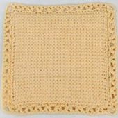 Pretty Crocheted Hot Pad or Potholder