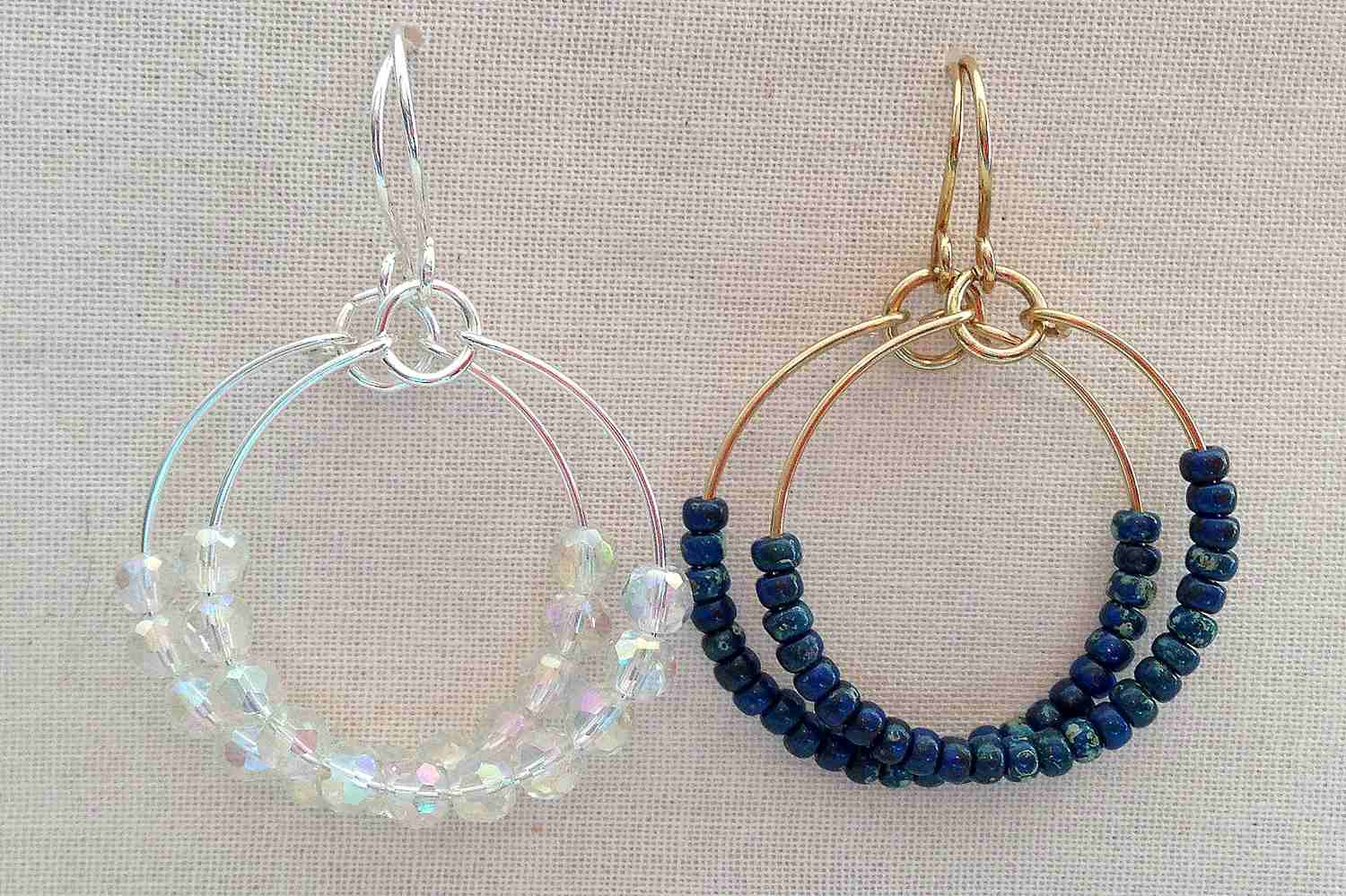 Cool 9 Easy Beaded And Wire Wrap Earrings To Make Wiring Cloud Hisonuggs Outletorg