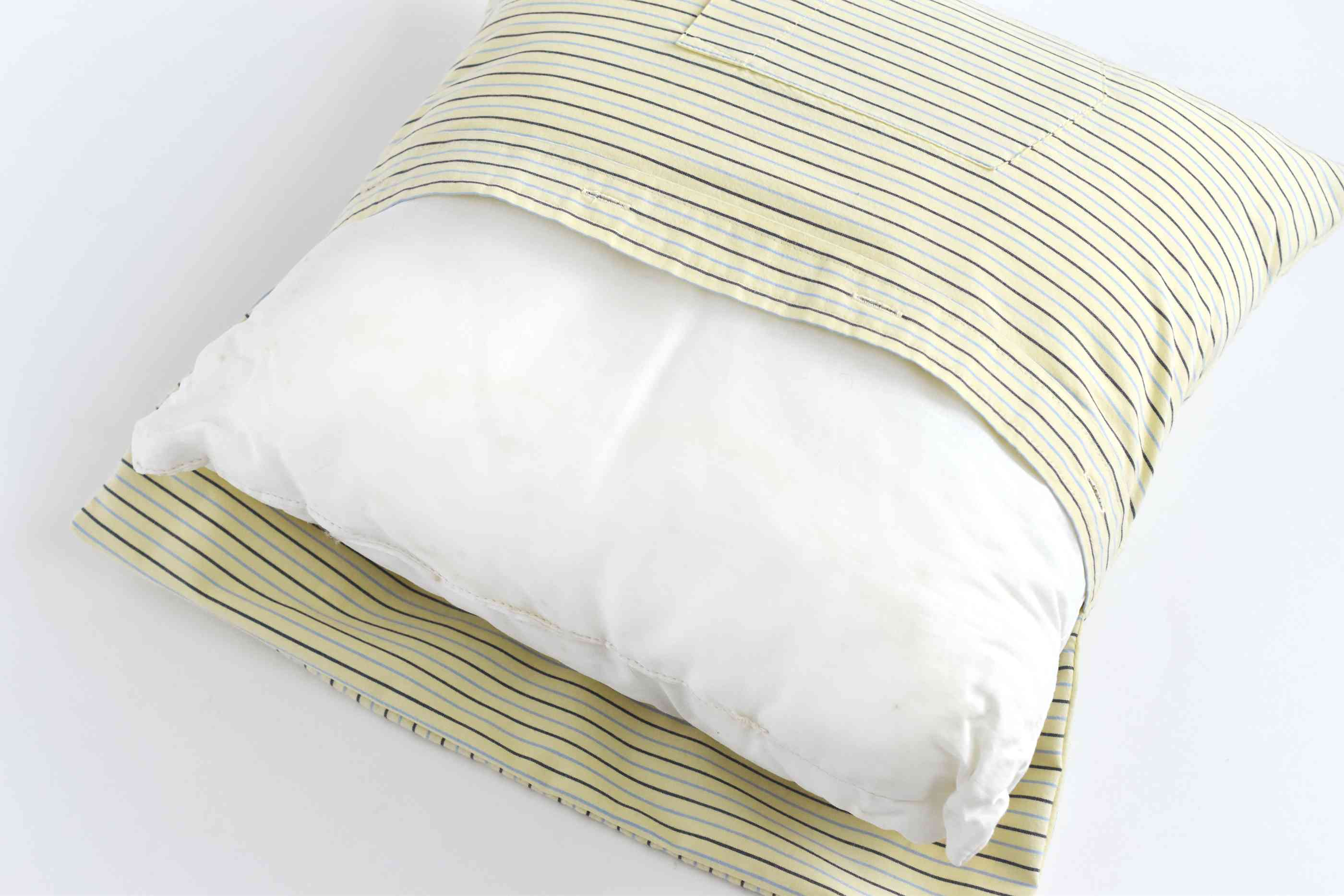 Turn the Cover and Insert the Pillow Form