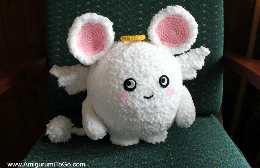 Angel Mouse Free Crochet Pattern