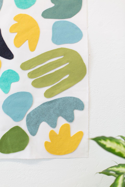 DIY Felt Wall Tapestry