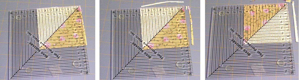 Easy Half Square Triangle Units