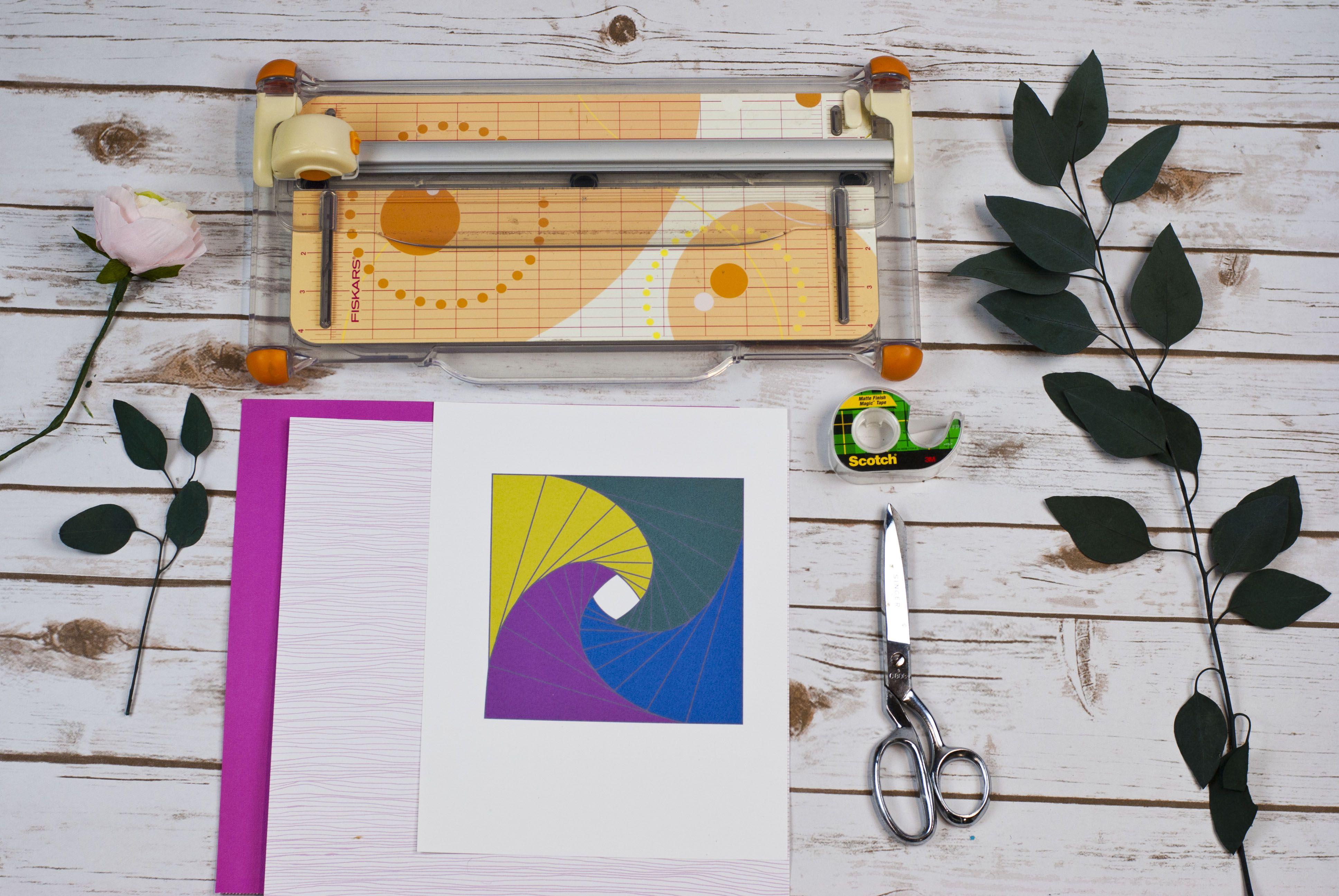 Iris Folding Supplies