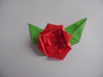 How to make an origami kusudama flower how to make an easy origami rose mightylinksfo