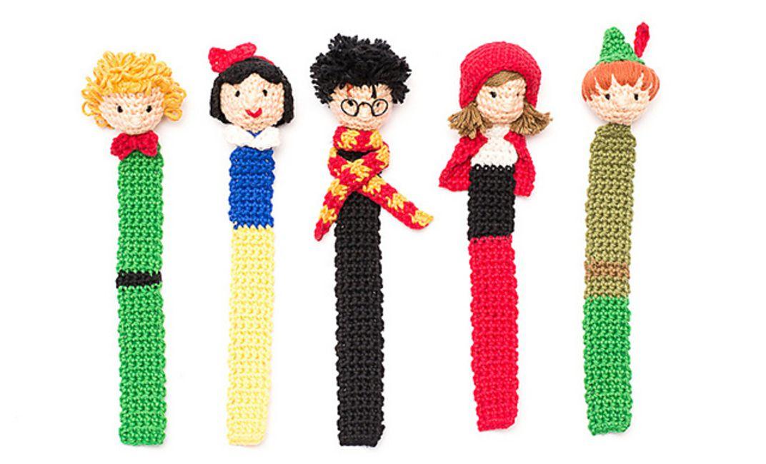 Wolf or Fox Bookmark - Crochet Pattern | Wzory szydełkowe, Wzory ... | 650x1072