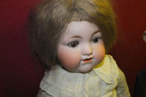Armand Marseille doll from the collection of the Guildhall Museum in Rochester, Kent.