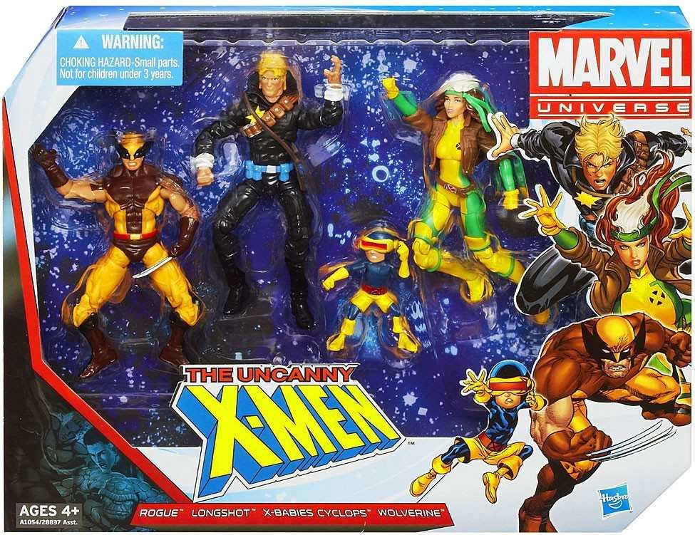 Marvel universe x-men action figures