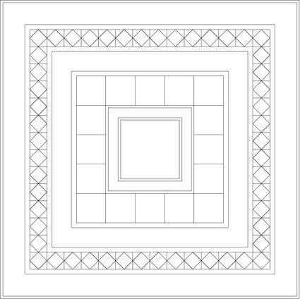 Dancing Nine Patch Quilt Pattern