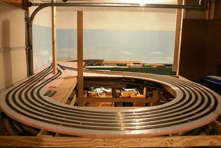 Model Railroad Staging Yards