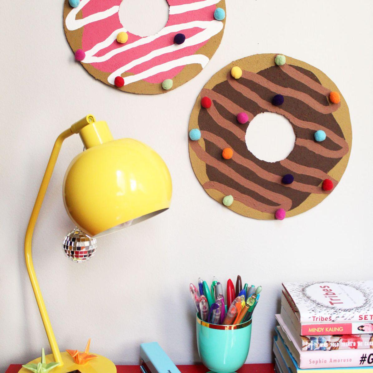 DIY Donut Bulletin Board