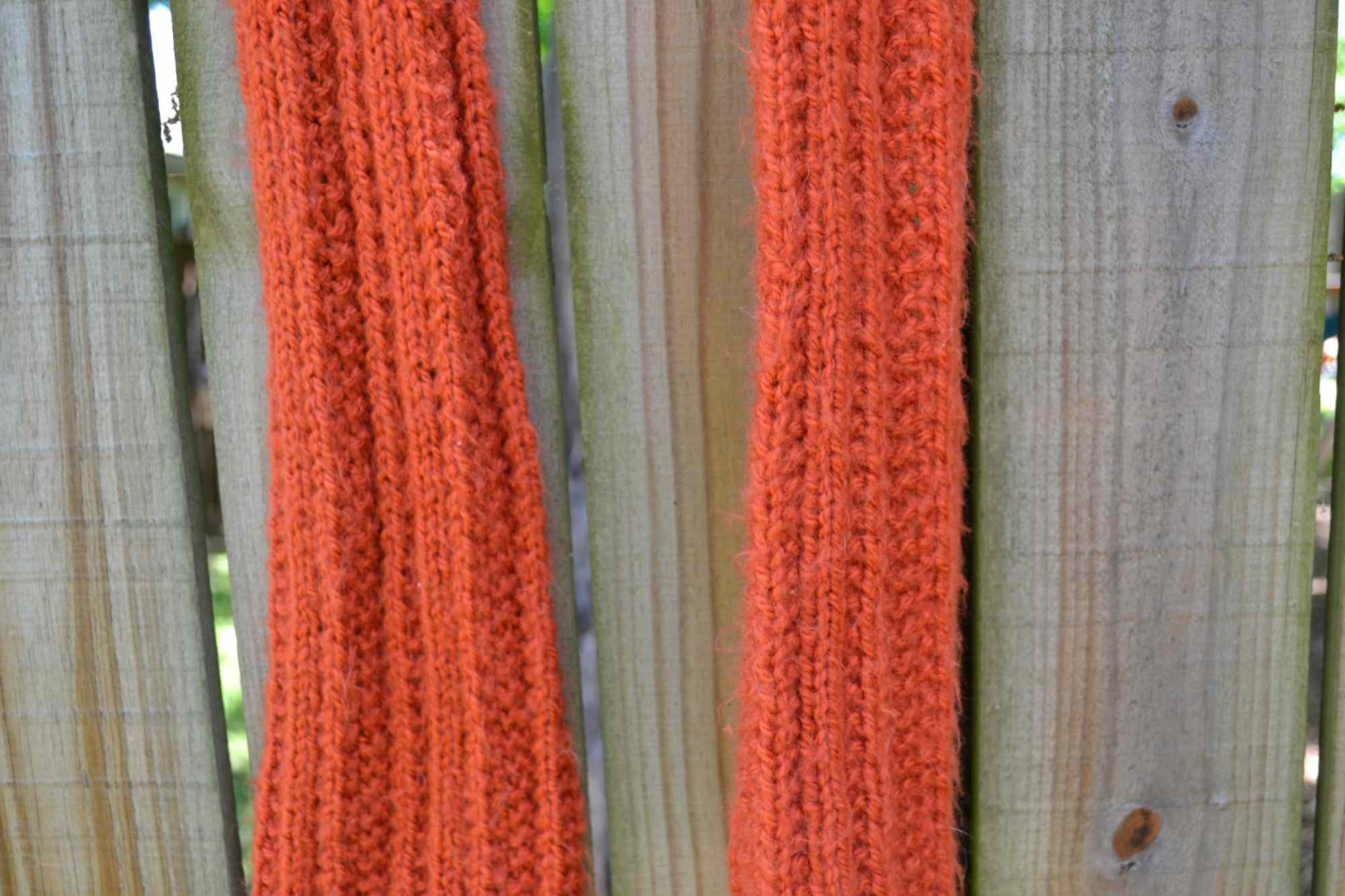 farrow rib scarf free knitting pattern